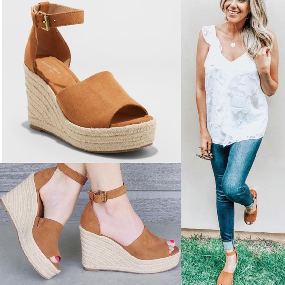 5875a5647e7 Universal Thread Emery Espadrilles Wedge Sandals. M 5b799cda1b16dbce19a26182